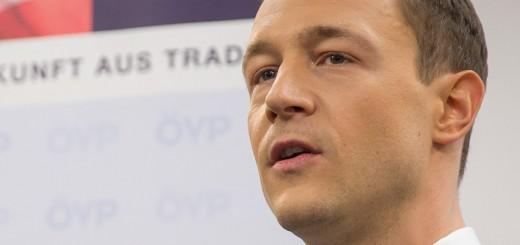 ÖVP Generalsekretär Gernot Blümel