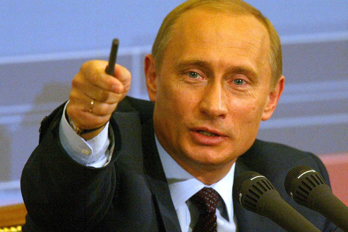 Vladimir Putin, Präsident der Russischen Föderation - vladimir_putin_kremlin