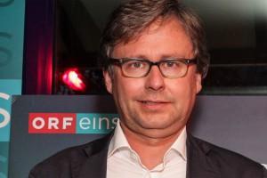 ORF Generaldirektor Alexander Wrabetz: Die Begeisterung steht ihm ins Gesicht geschrieben.