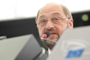 Martin Schulz (S&D) wirbt für seine Wahlrechtsreform