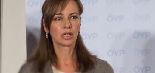 Familienministerin Sophie Karmasin (ÖVP) - immer wieder ein Garant für gute Ideen