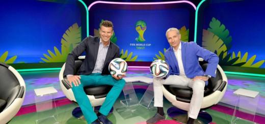 Das ORF WM Studio - nicht nur wegen der Farbgebung ein Fall für die FIFA-Ethikkommission